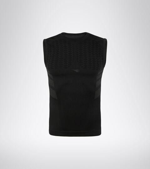 Camiseta de tirantes para correr - Hombre SL T-SHIRT ACT NEGRO - Diadora