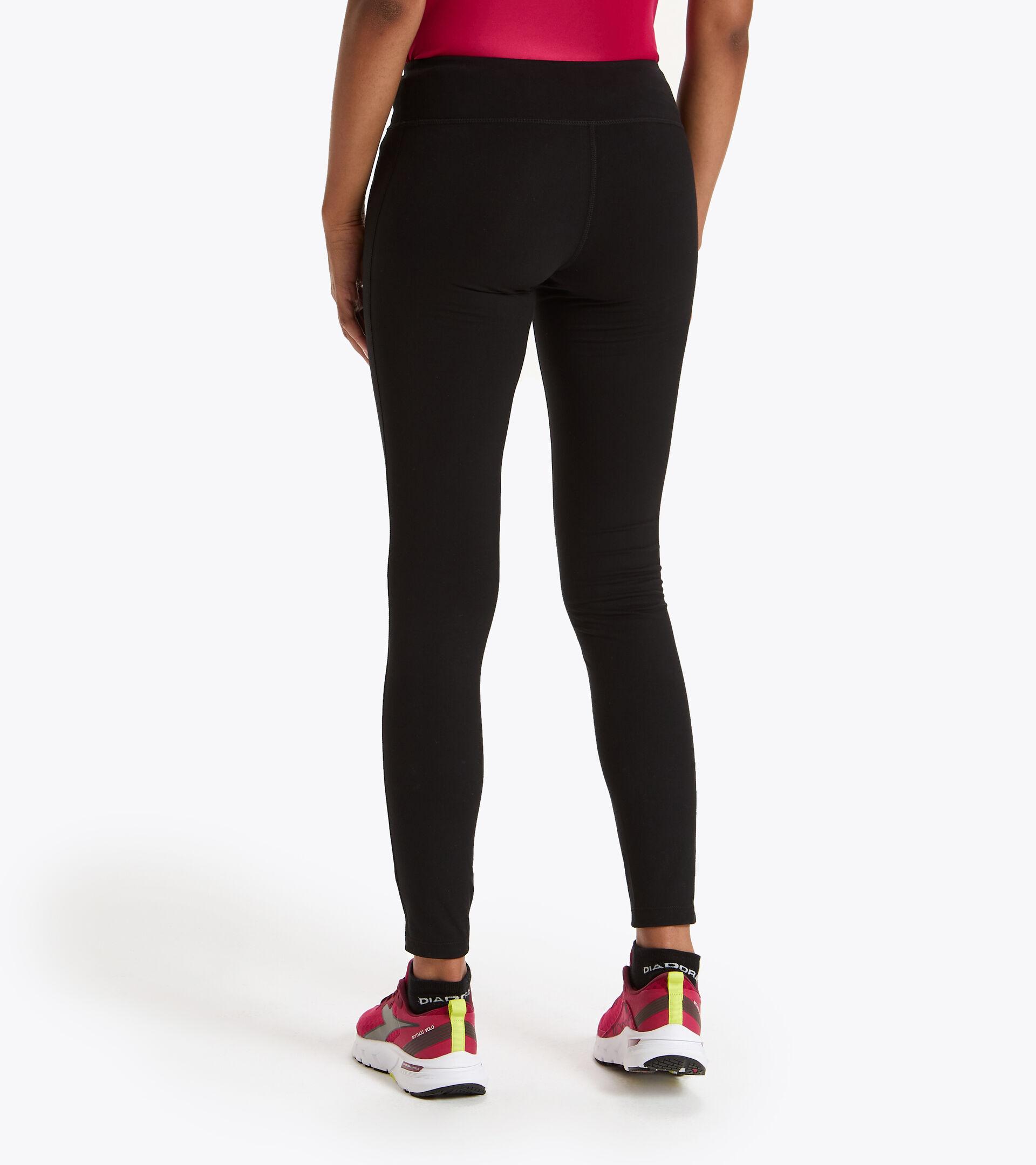 Training leggings - Women L. STC LEGGINGS BE ONE BLACK - Diadora