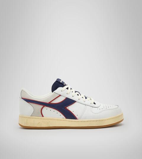 Footwear Sportswear UNISEX MAGIC BASKET LOW ICONA BLANCO/AZUL  CREPUSCULO Diadora
