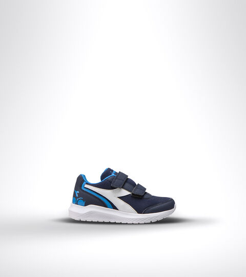 Chaussures de running - Unisexe Enfant FALCON JR V BLEU DOMAINE/ BLEU BRILLANT - Diadora