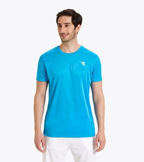 Camiseta de tenis - Hombre T-SHIRT TEAM AZUL REAL FLUO - Diadora