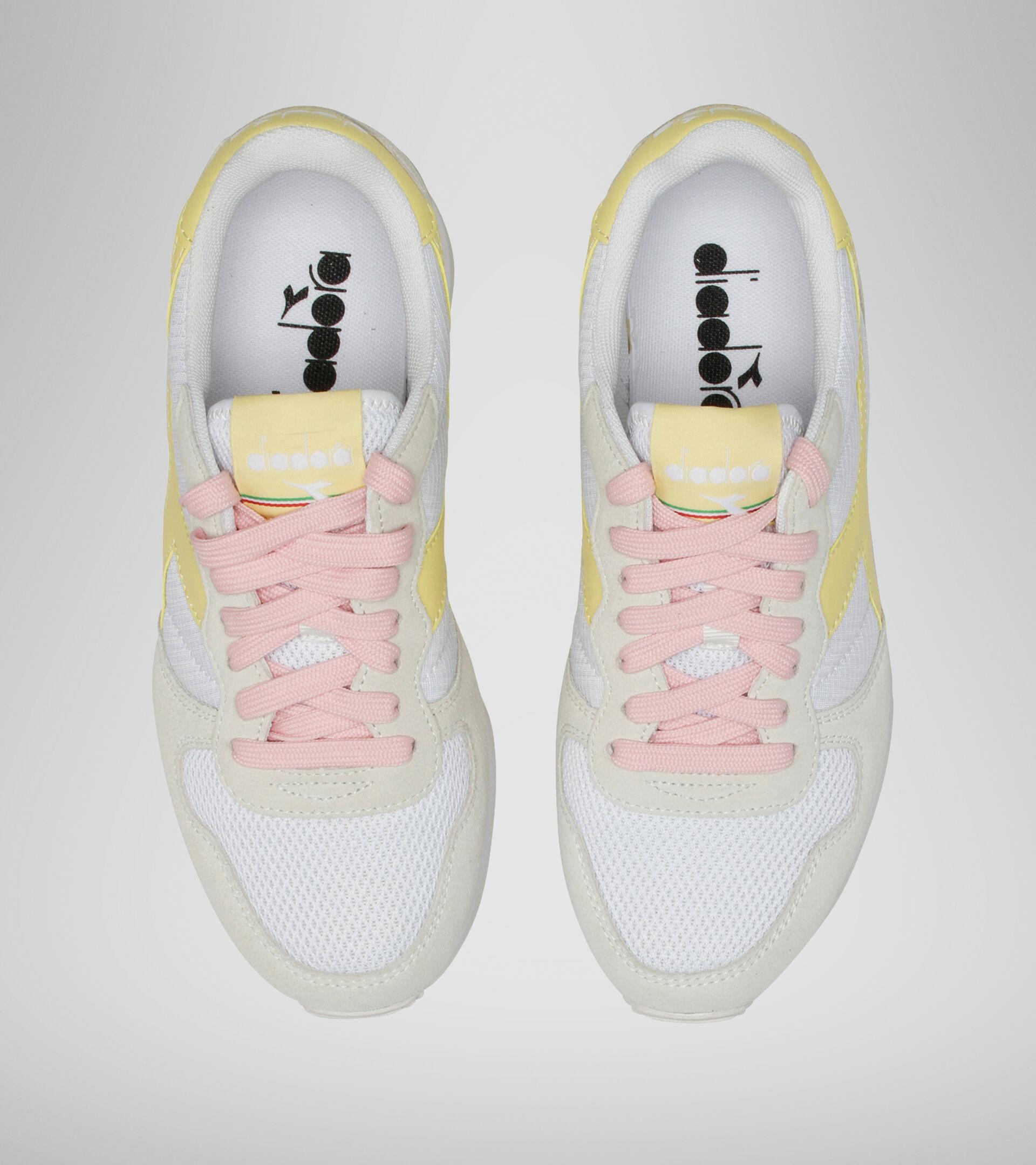 Footwear Sportswear DONNA CAMARO WN WHITE/POPCORN Diadora