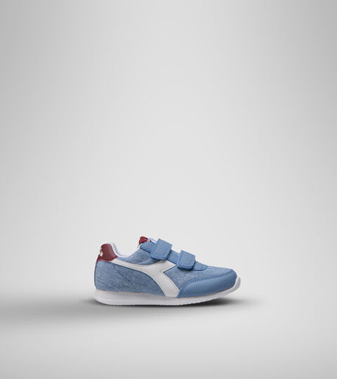 Chaussures de sport - Enfants 4-8 ans JOG LIGHT PS DENIM DELAVE/ZINFANDEL - Diadora
