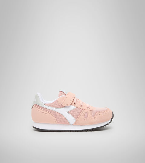 Sports shoes - Kids 4-8 years SIMPLE RUN PS PINK SAND (50034) - Diadora