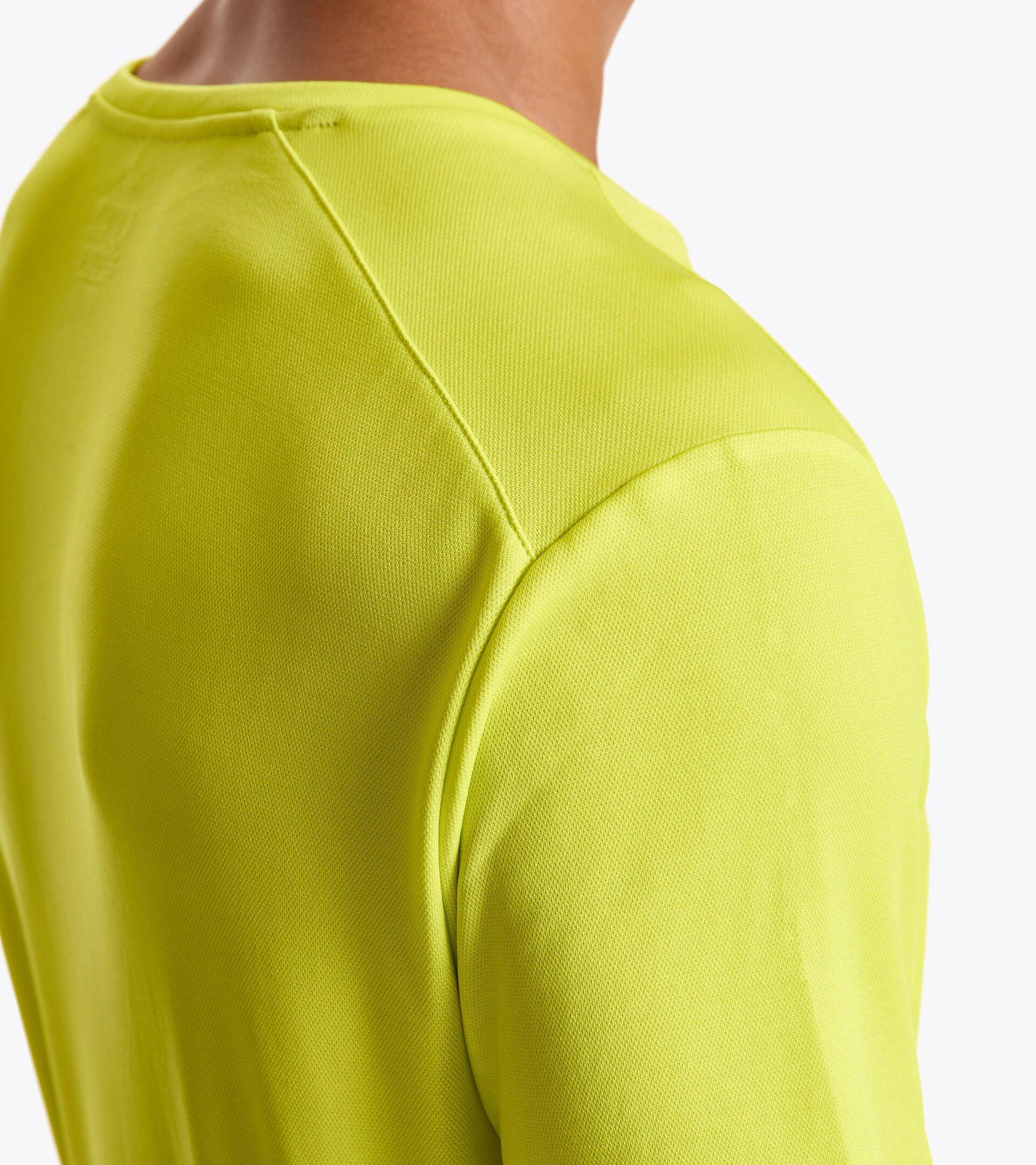Tennis T-shirt - Men SS T-SHIRT EASY TENNIS GREEN SPRING - Diadora