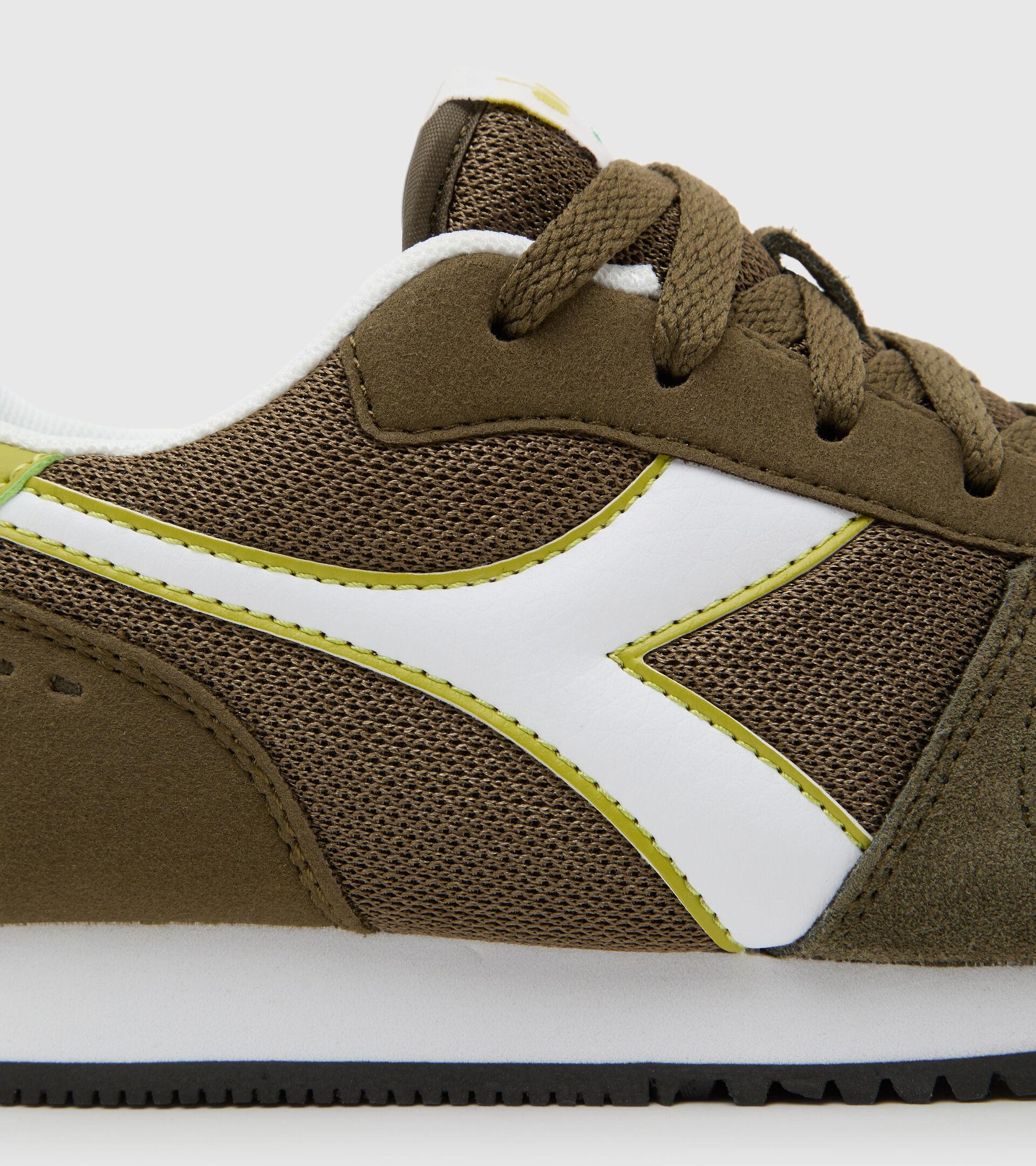 Footwear Sport BAMBINO SIMPLE RUN GS VERDE OLIVA. Diadora