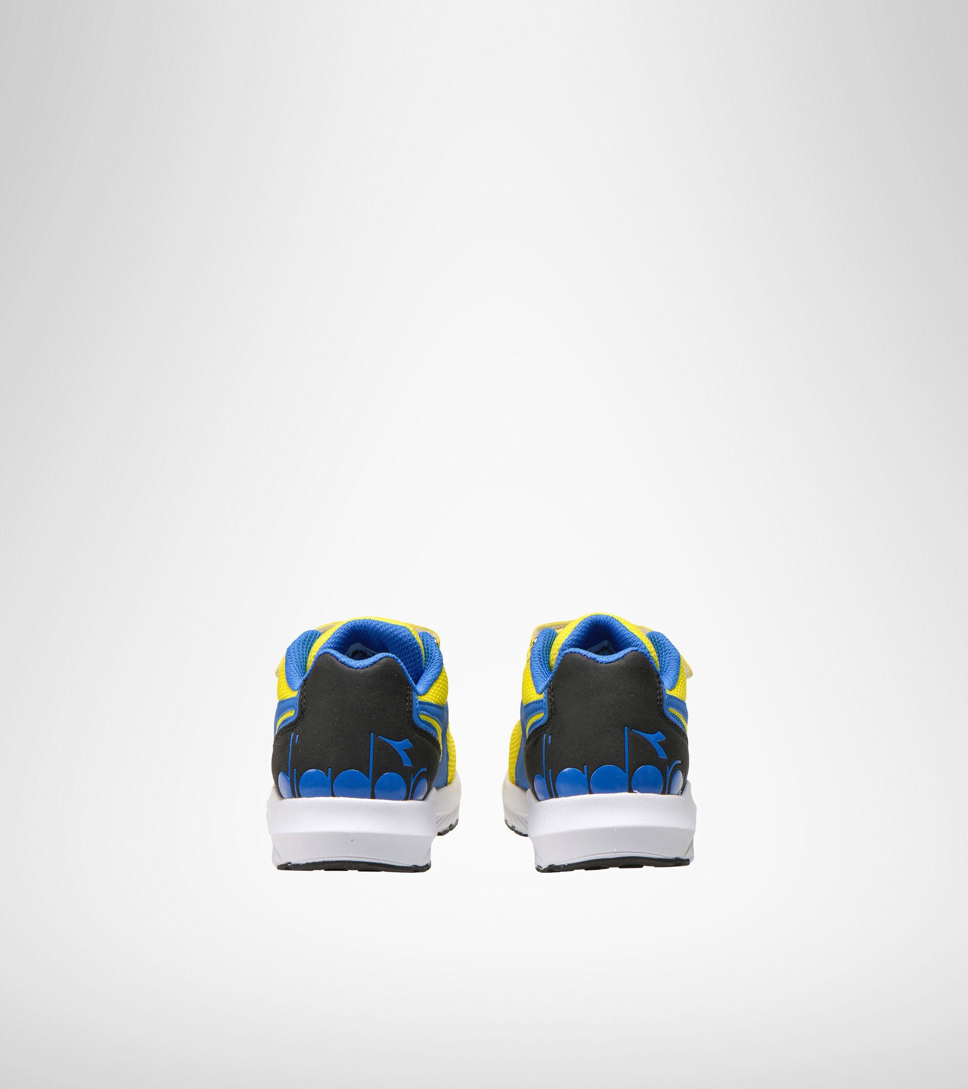 Chaussures de running - Unisexe Enfant FALCON JR V GIALLO/AZZURRO - Diadora