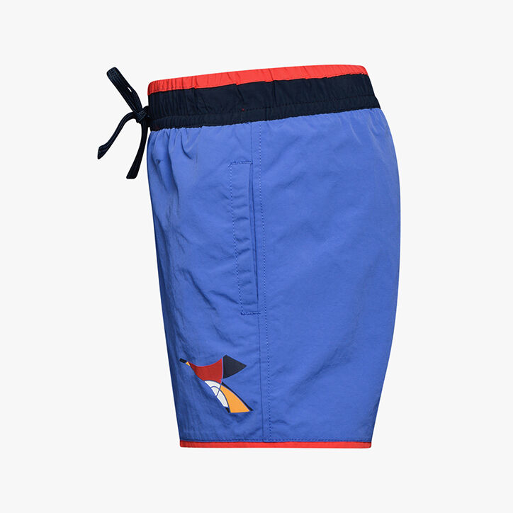 JU.BEACH SHORT FREGIO, BLUE PERSIA, large