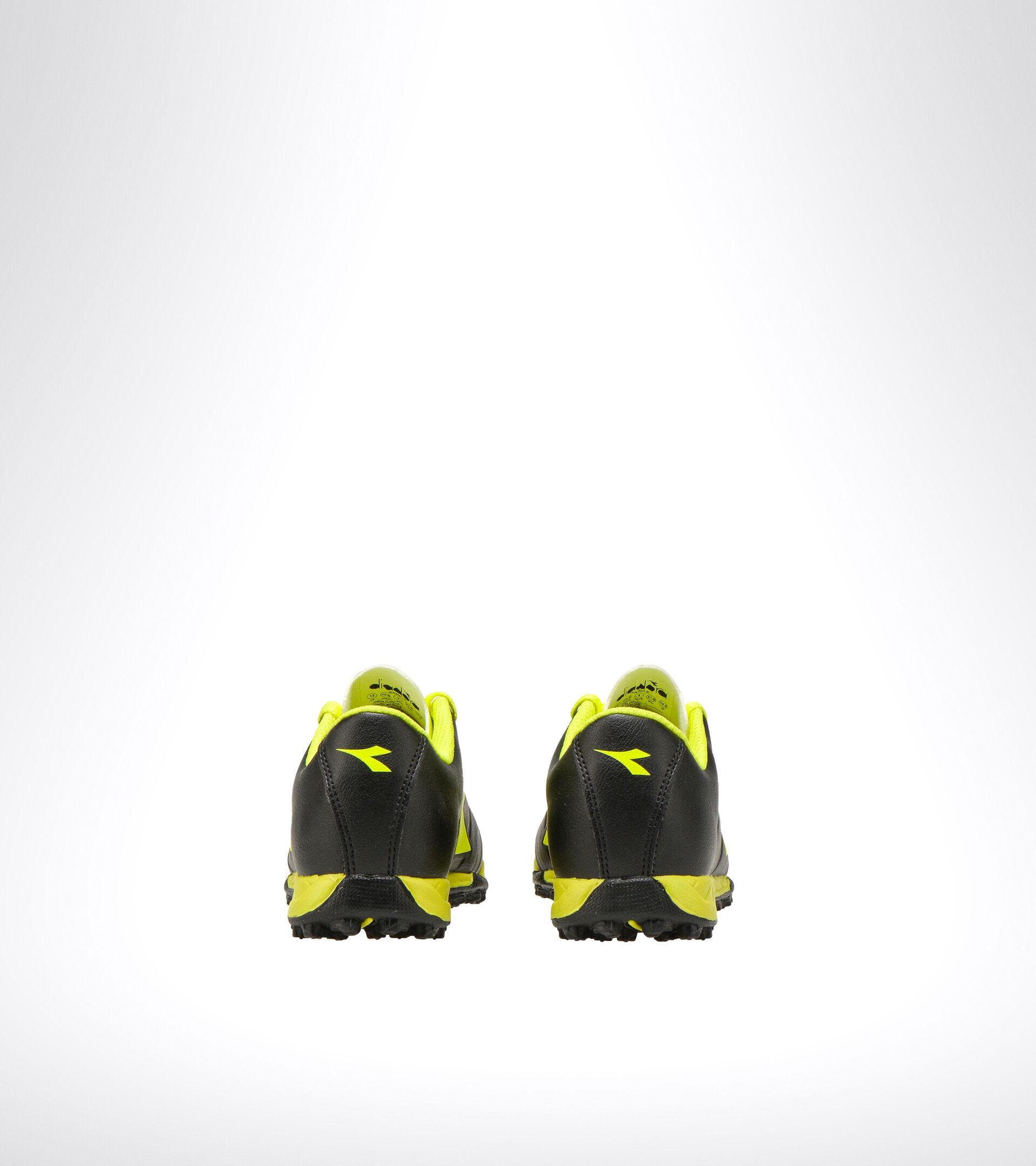 Footwear Sport BAMBINO PICHICHI 3 TF JR NERO/GIALLO FLUO DIADORA Diadora
