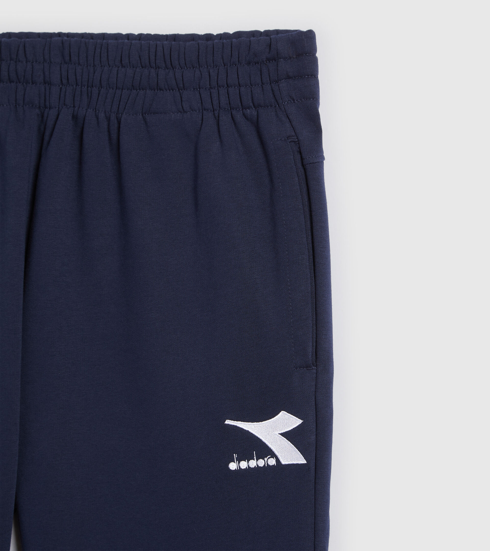 Sporthose - Herren PANTS CUFF CORE CABAN BLAU - Diadora
