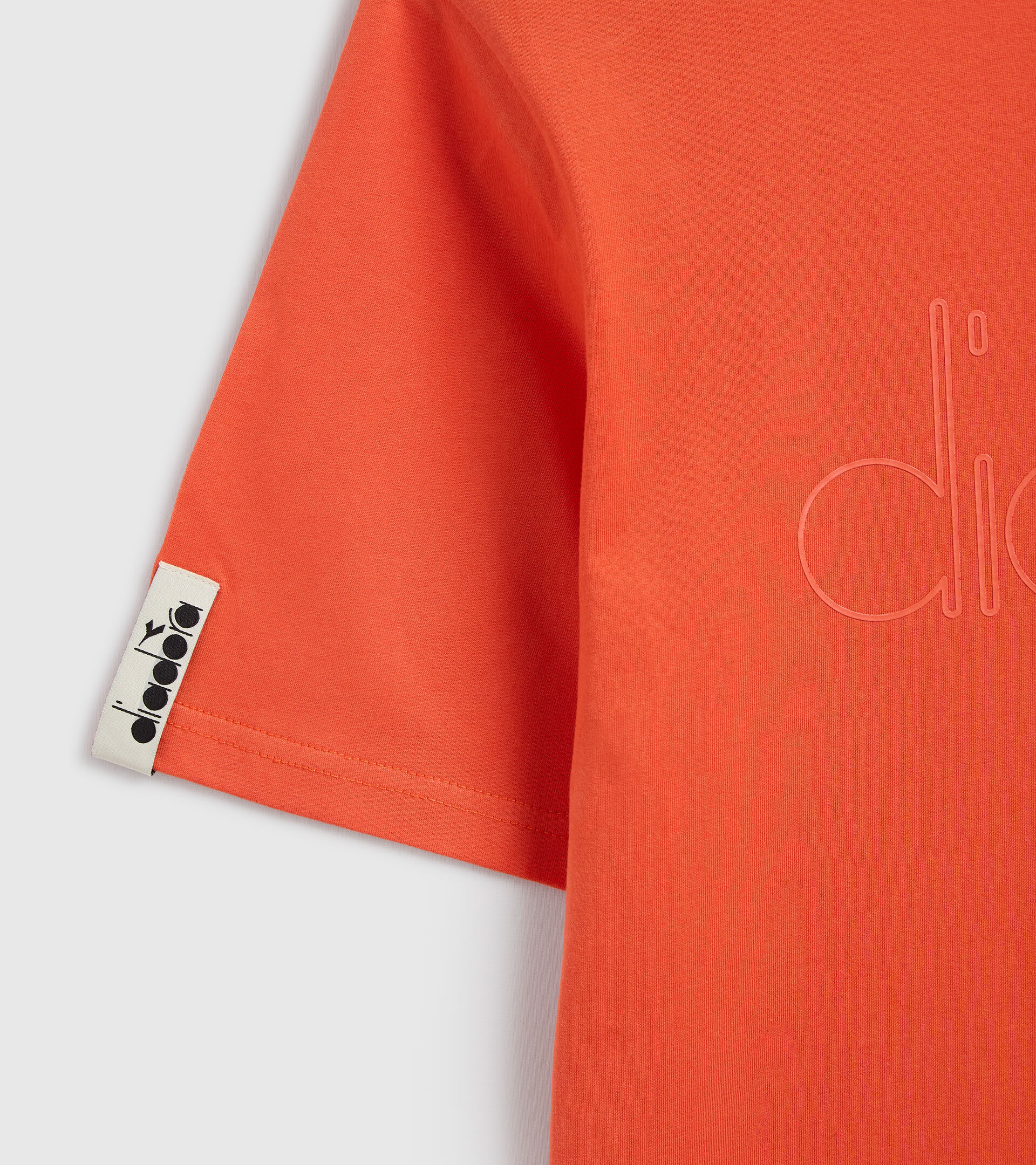 T-Shirt - Unisex T-SHIRT SS DIADORA HD TIGERLILIE ROT - Diadora
