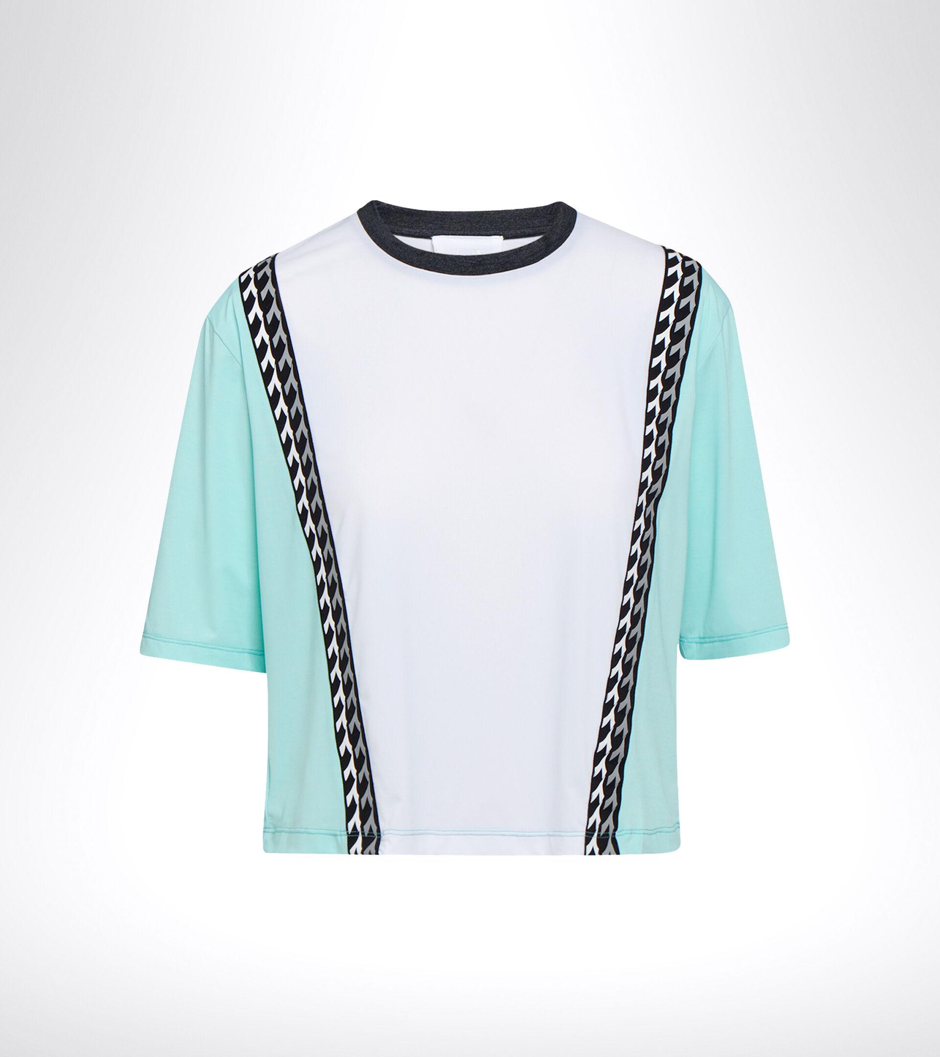 Lauf-T-Shirt - Damen L. SS T-SHIRT BE ONE TECH BLAU TINTE/GOLDZEISIG - Diadora