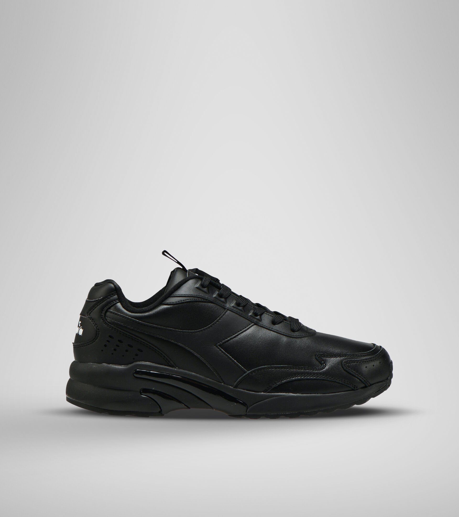 Zapatillas deportivas - Unisex DISTANCE 280 LEATHER NEGRO/NEGRO/NEGRO - Diadora