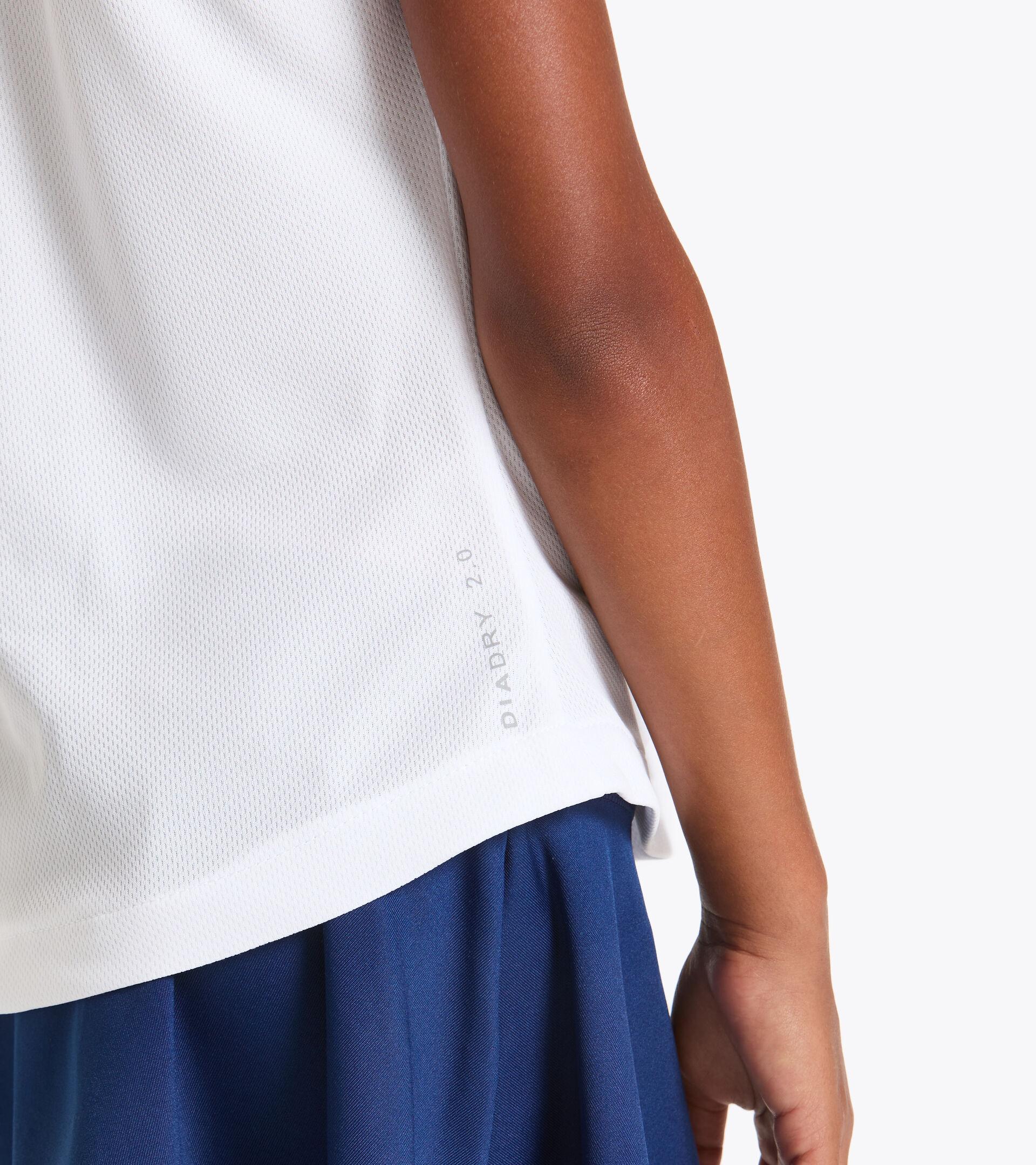 Camiseta de tenis - Junior G. T-SHIRT COURT BLANCO VIVO - Diadora