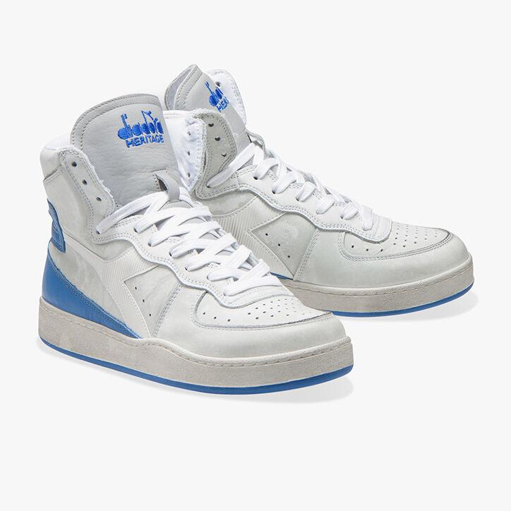 MI BASKET USED, WHITE/CAMPANULA BLUE, large