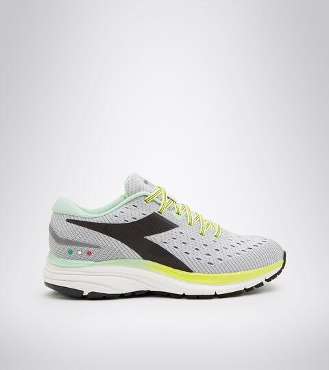 Running shoe - Women MYTHOS BLUSHIELD 6 W SILVER DD/STEEL GRAY/BLACK - Diadora