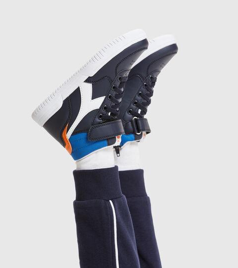 Sports shoes - Kids 4-8 years RAPTOR MID PS BLUE CORSAIR/WHITE - Diadora