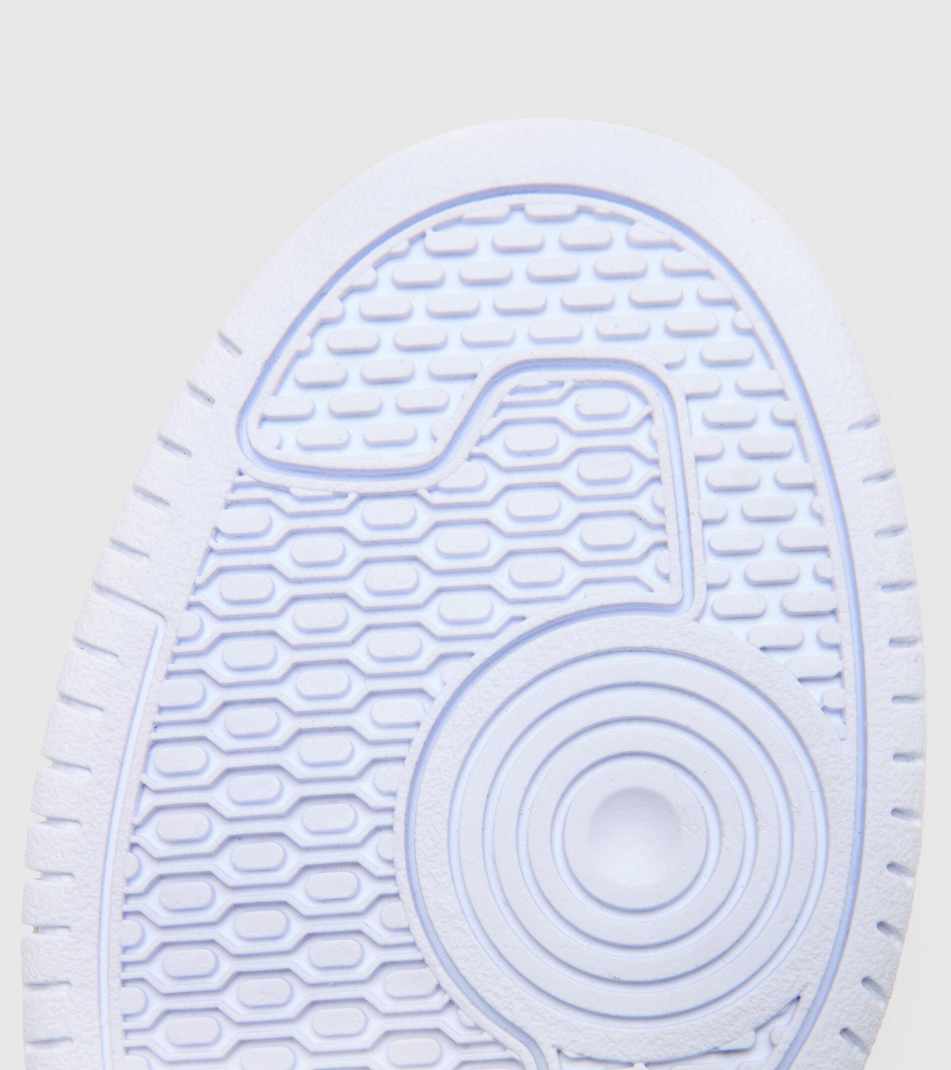 Footwear Sport BAMBINO RAPTOR LOW GS BLUE CORSAIR/WHITE Diadora