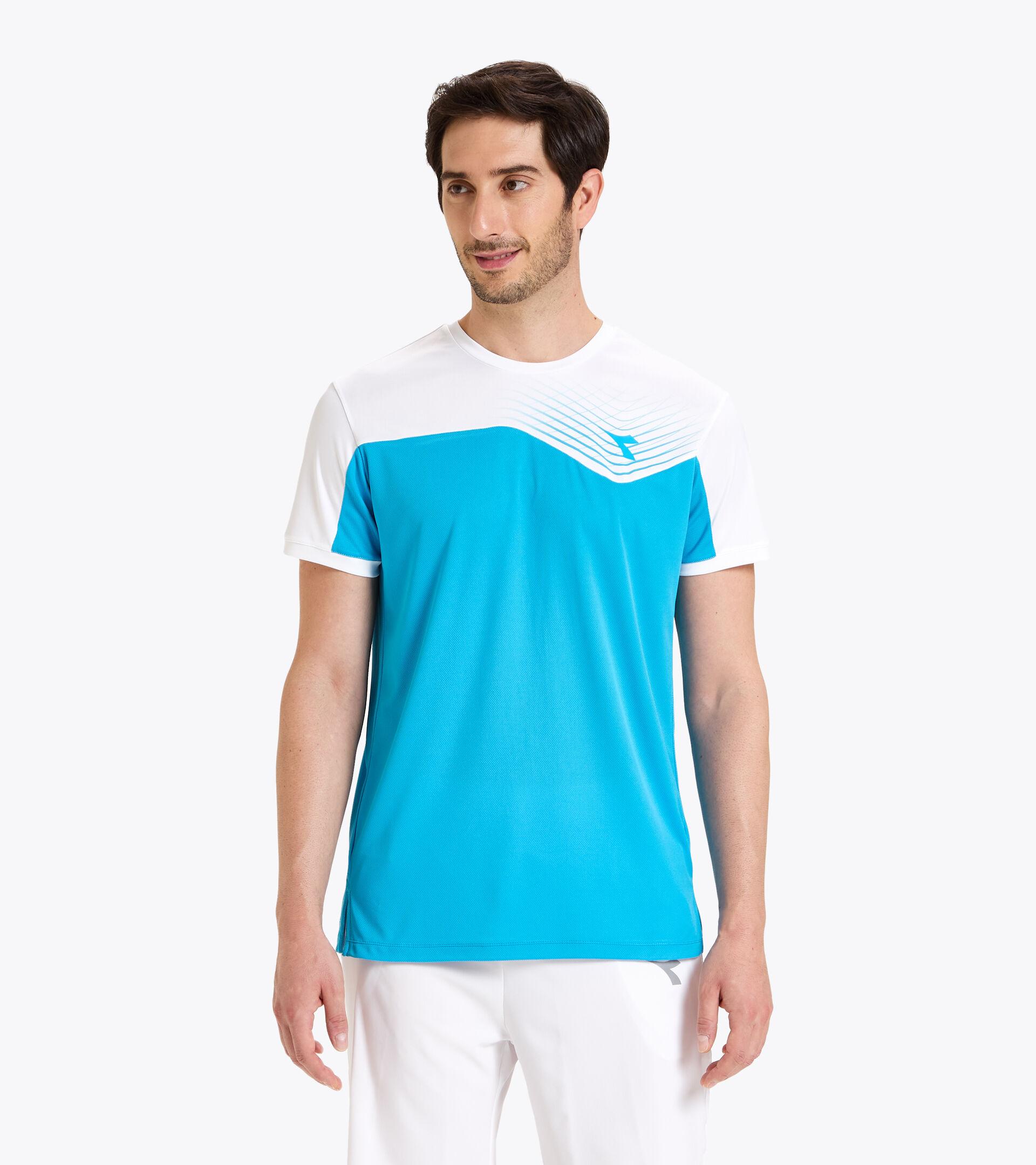 Tennis T-shirt - Men T-SHIRT COURT ROYAL FLUO - Diadora