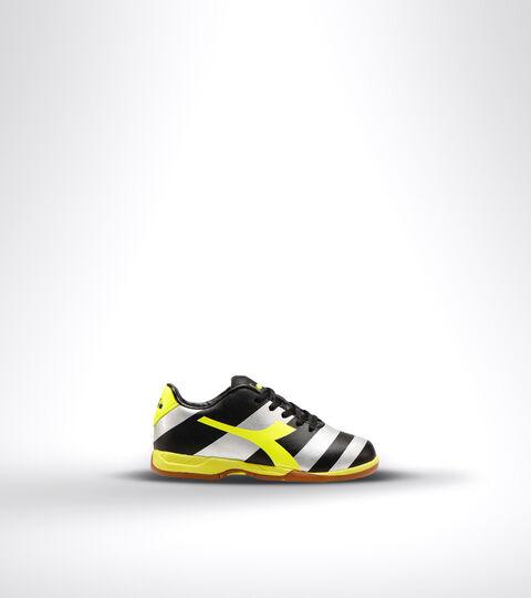 Footwear Sport BAMBINO RAPTOR R ID JR BLACK/SILVER/YELLOW FL DD Diadora