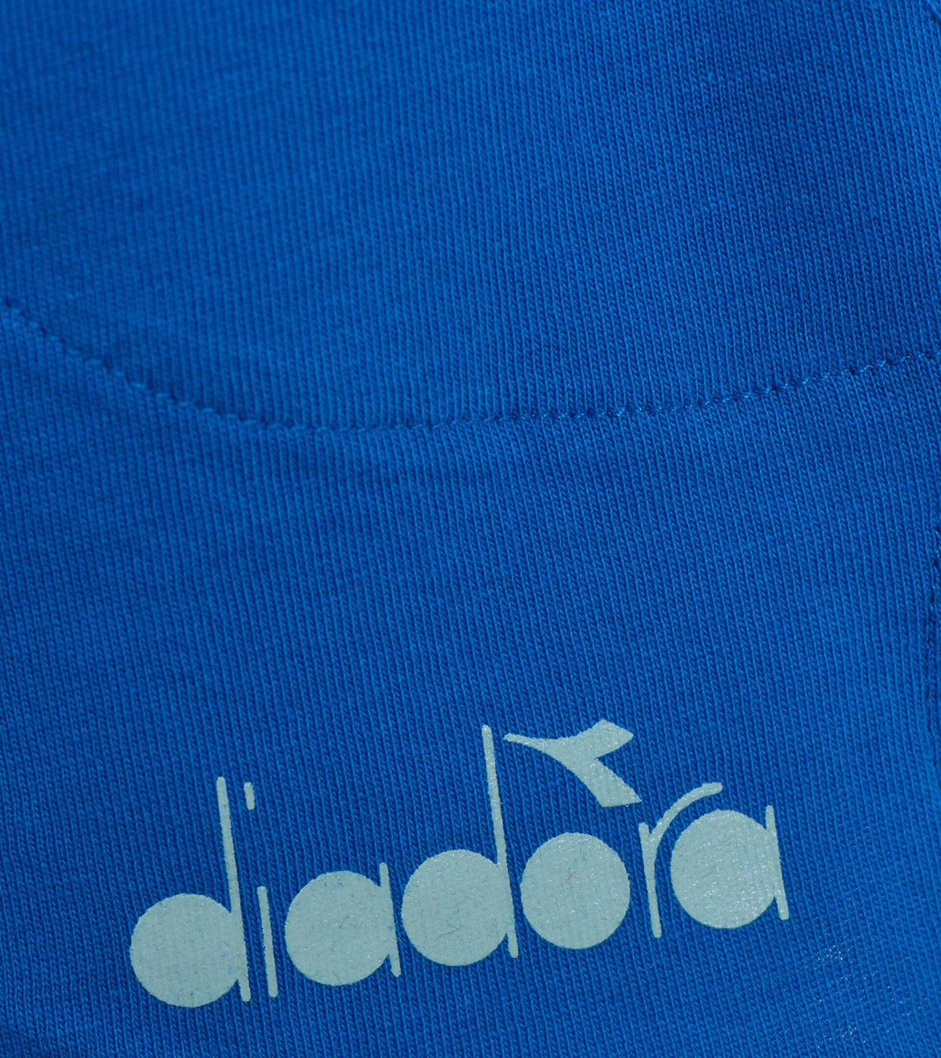 Apparel Sport BAMBINO JG. SHORT LOGO MANIA MICRO BLUE Diadora