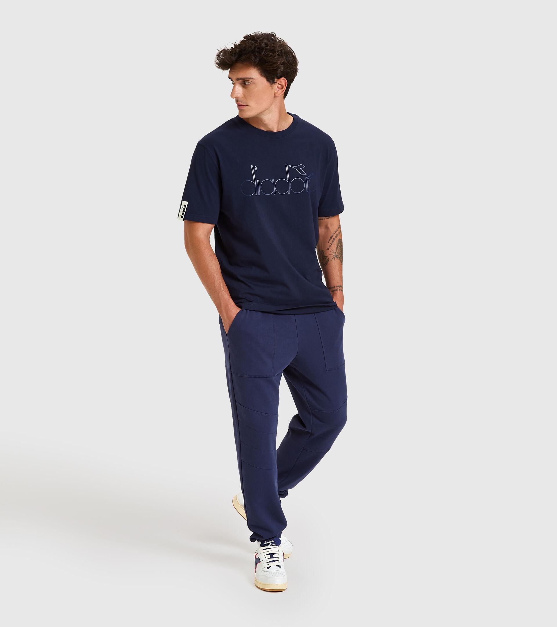 T-shirt - Unisex T-SHIRT SS DIADORA HD CLASSIC NAVY - Diadora