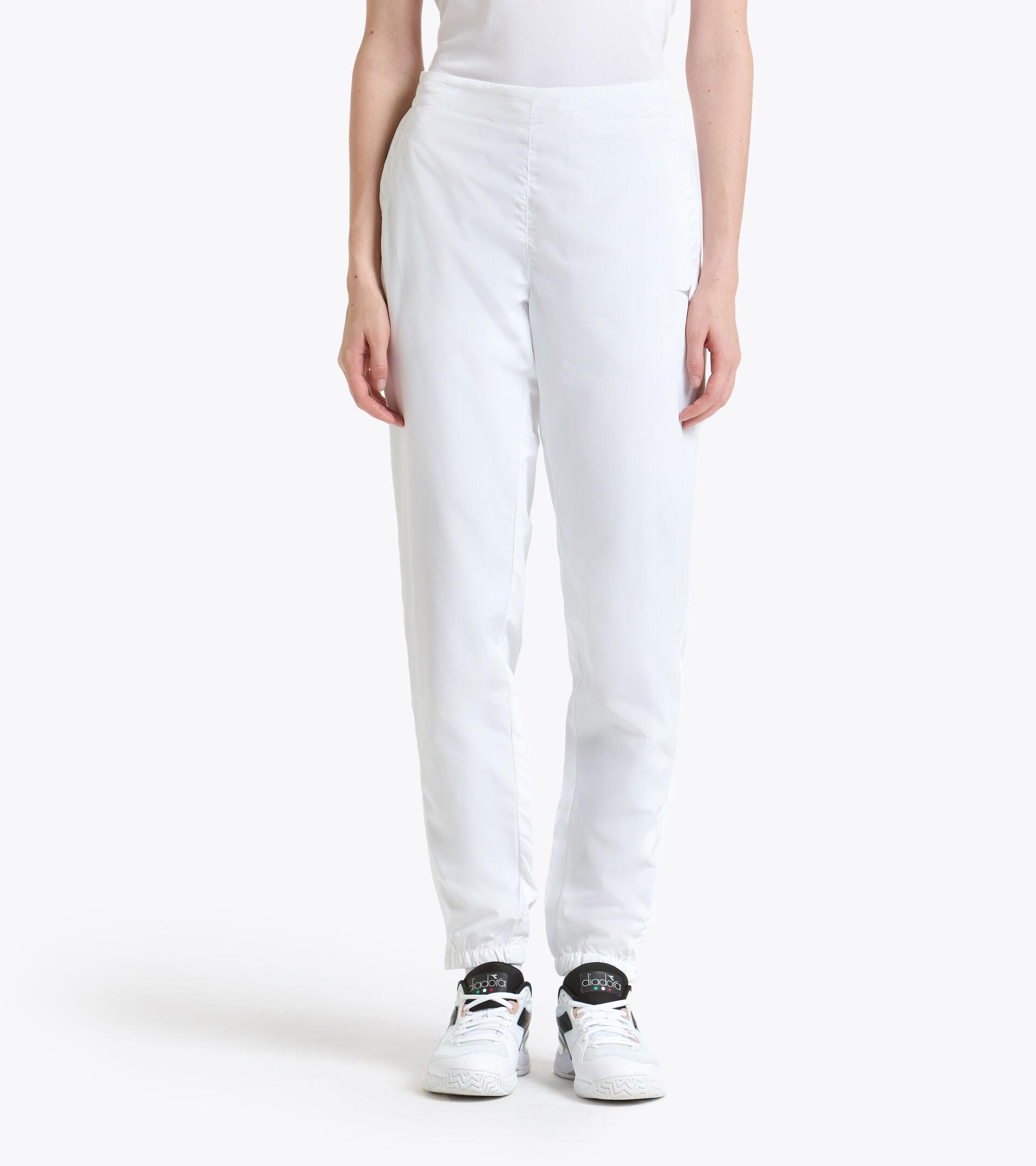 Tennis trousers - Women L. PANT COURT OPTICAL WHITE - Diadora