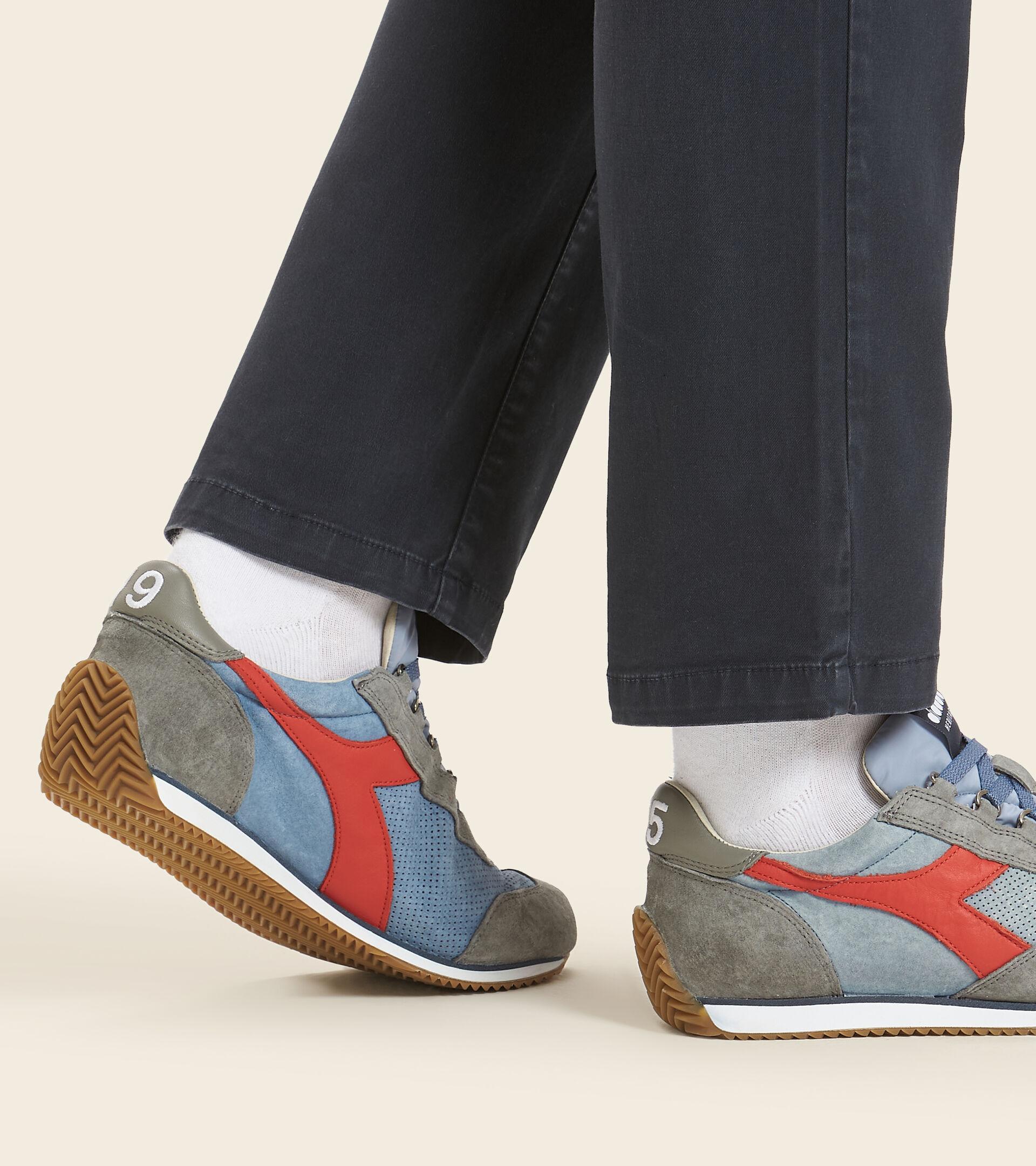 Heritage-Sneaker - Unisex  EQUIPE SUEDE SW VERBLICHENE JEANSSTOFF - Diadora