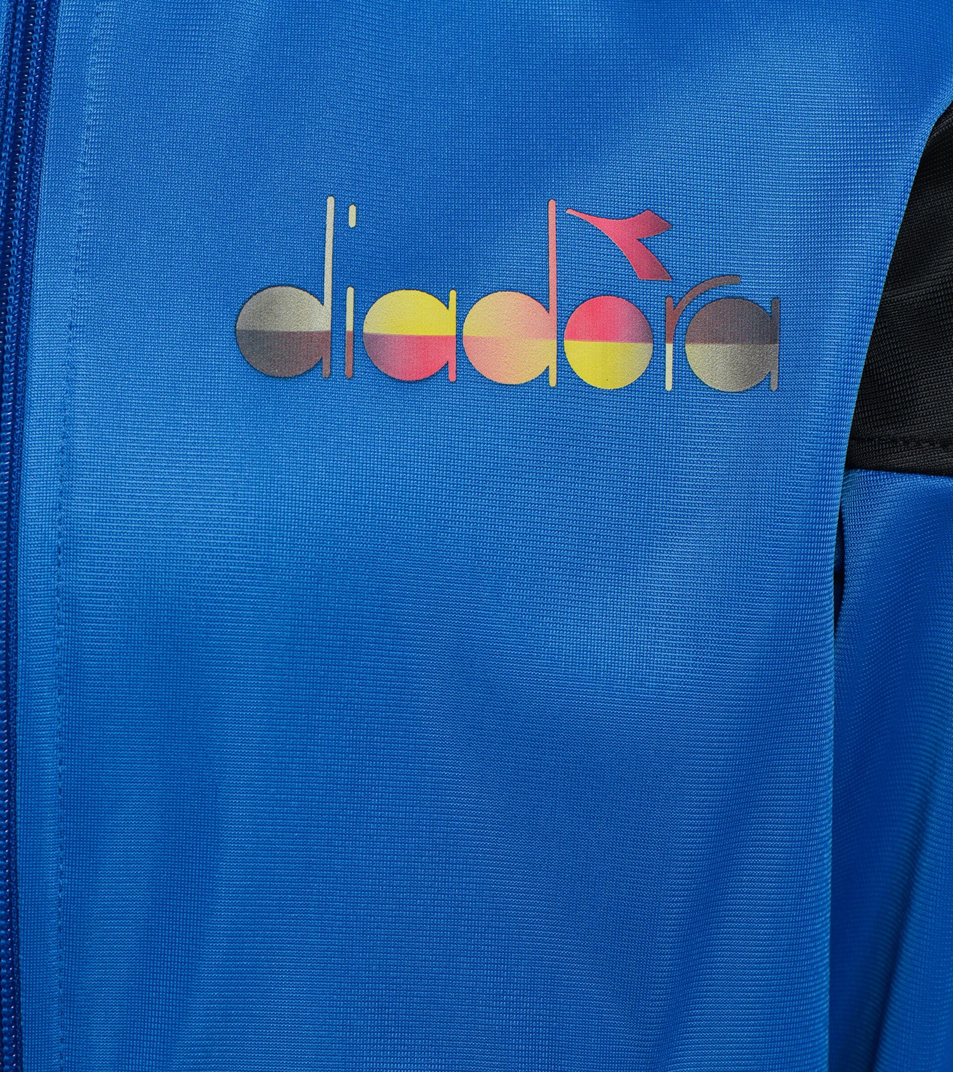 Apparel Sport BAMBINO JB. TRACKSUIT FZ DIADORA CLUB BLU MICRO Diadora