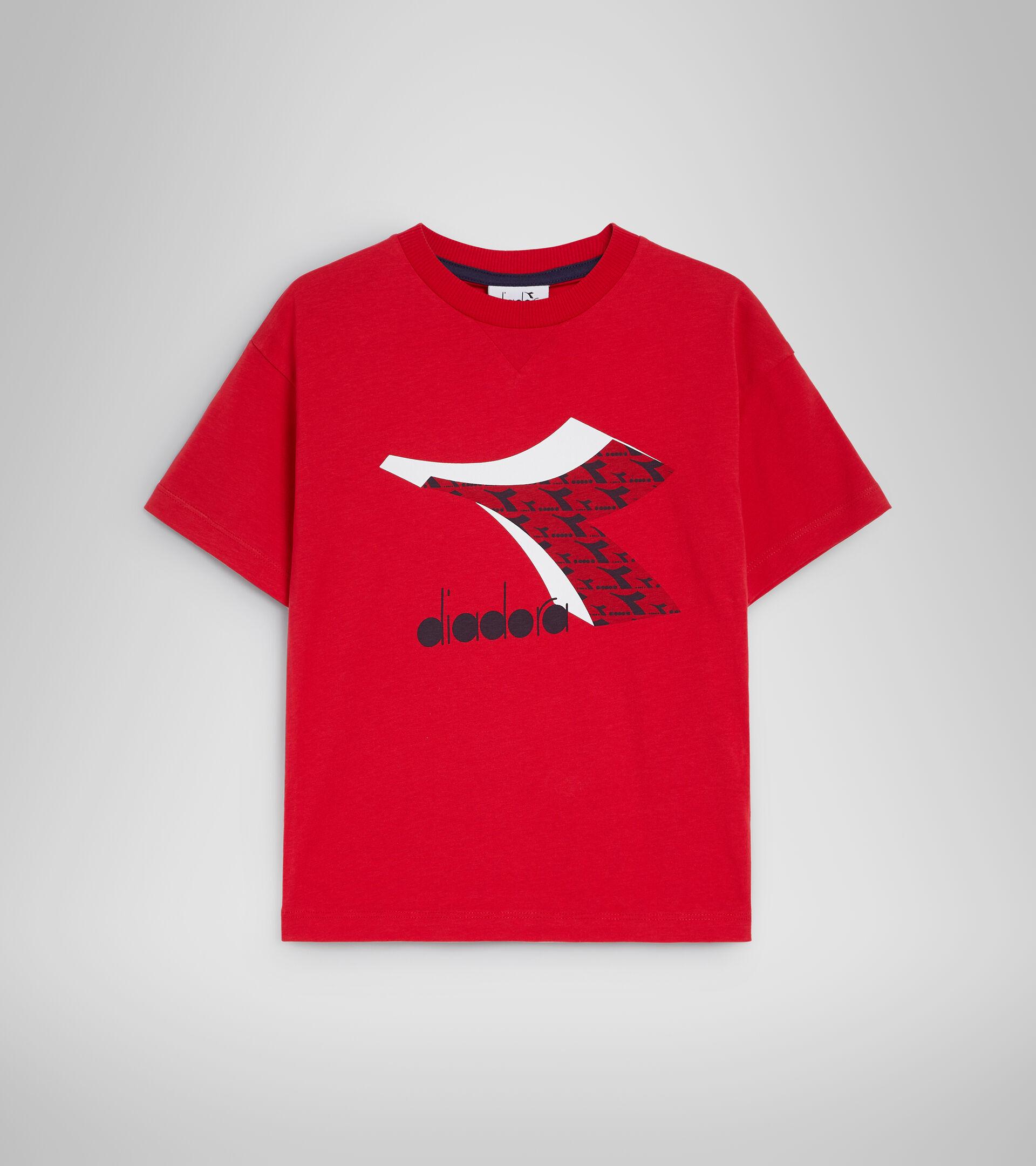 T-Shirt - Kinder JU.SS T-SHIRT  CUBIC TANGOROT - Diadora