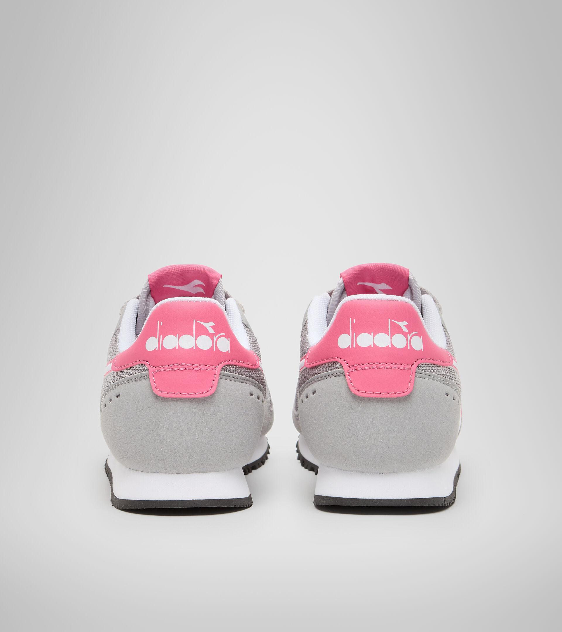 Sports shoes - Youth 8-16 years SIMPLE RUN GS PALOMA GREY - Diadora