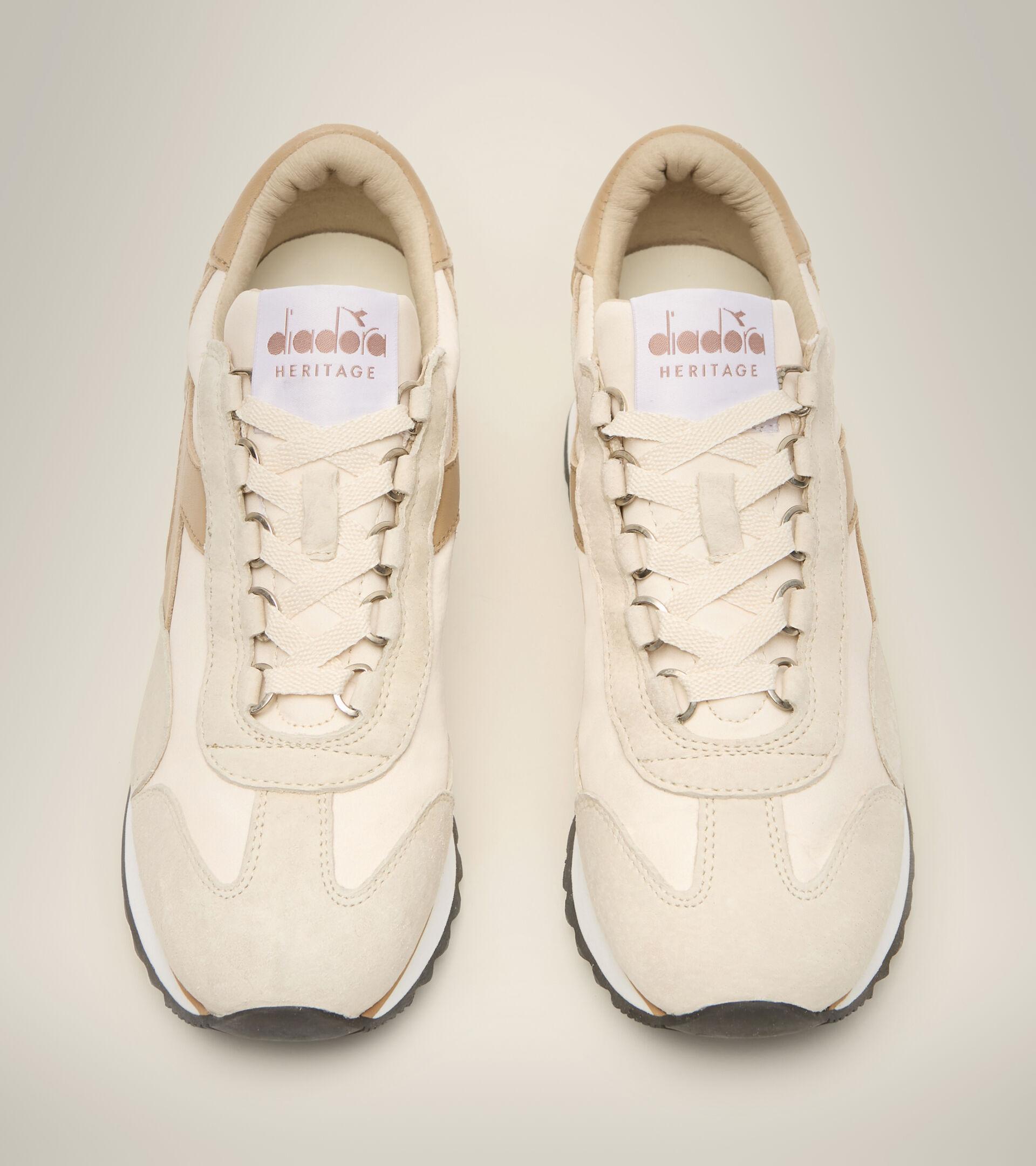 Heritage-Schuh - Damen EQUIPE SUEDE SW EVO WN EIERLIKOER WEISS - Diadora