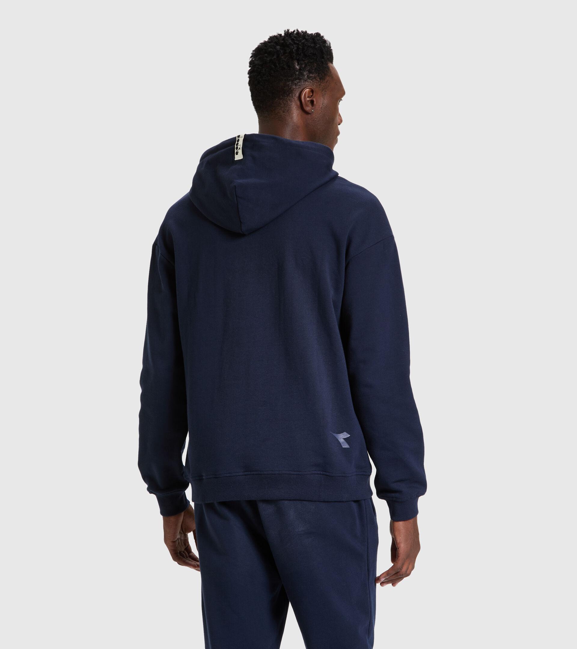 Hooded sweatshirt - Unisex HOODIE DIADORA HD CLASSIC NAVY - Diadora