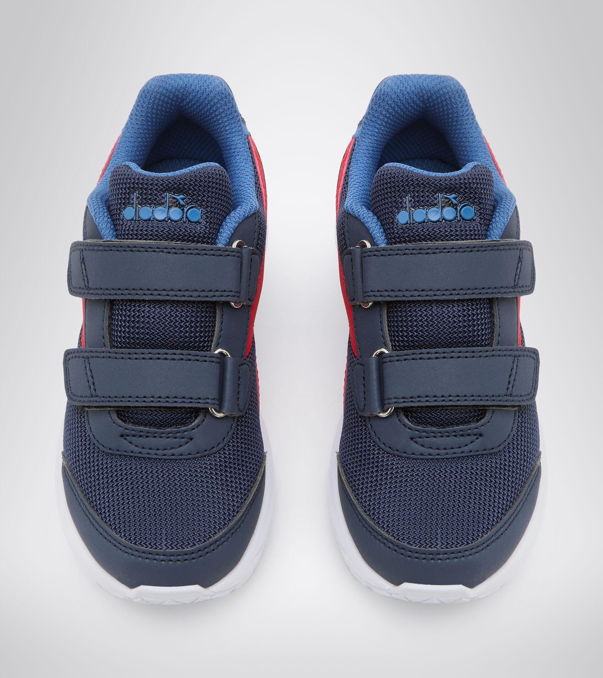 Zapatilla de running - Unisex niños FALCON JR V LIRIO NEGRO/AZUL FEDERAL - Diadora