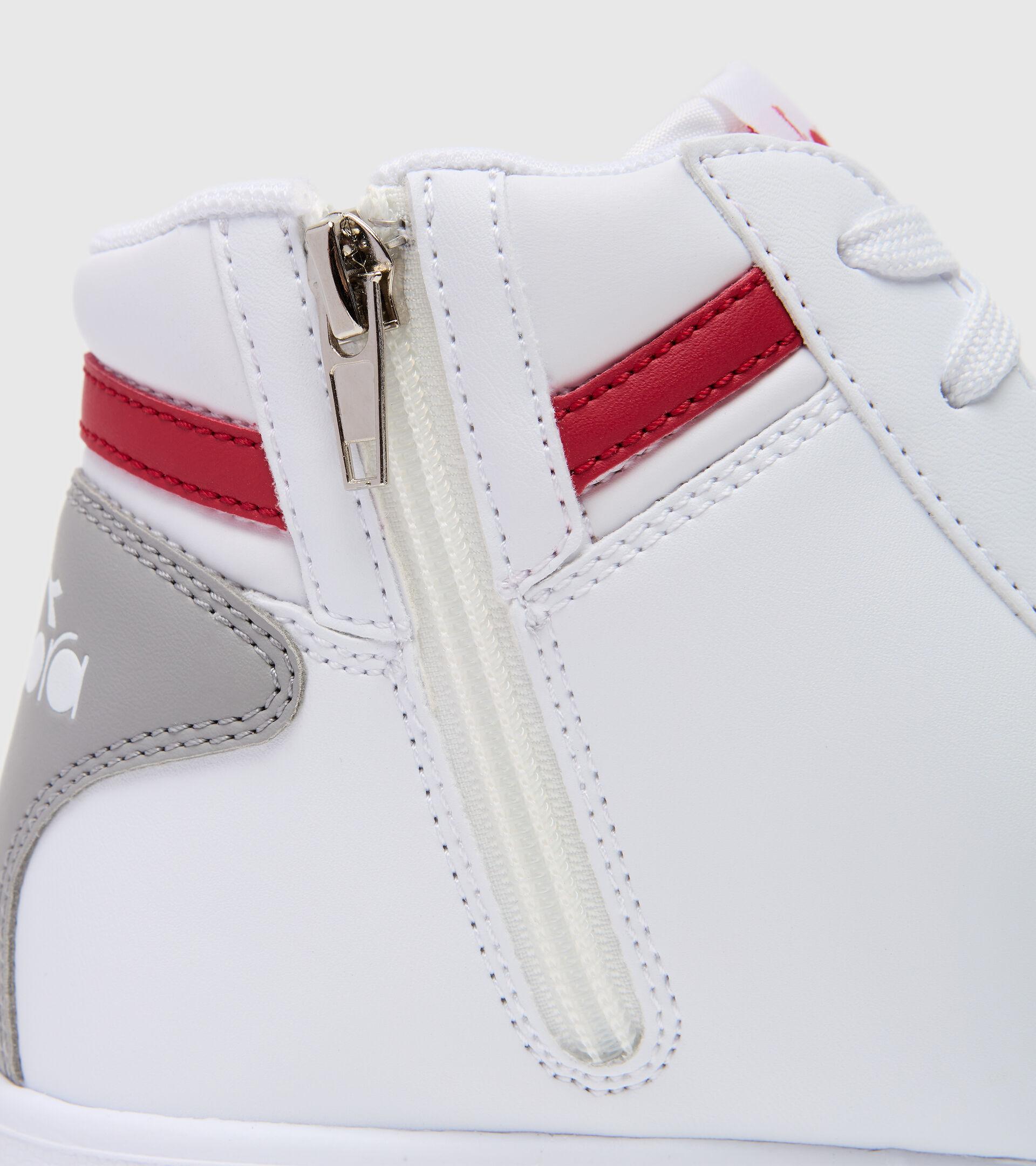 Footwear Sport BAMBINO GAME P HIGH GS BIANCO/ROSSO TANGO Diadora