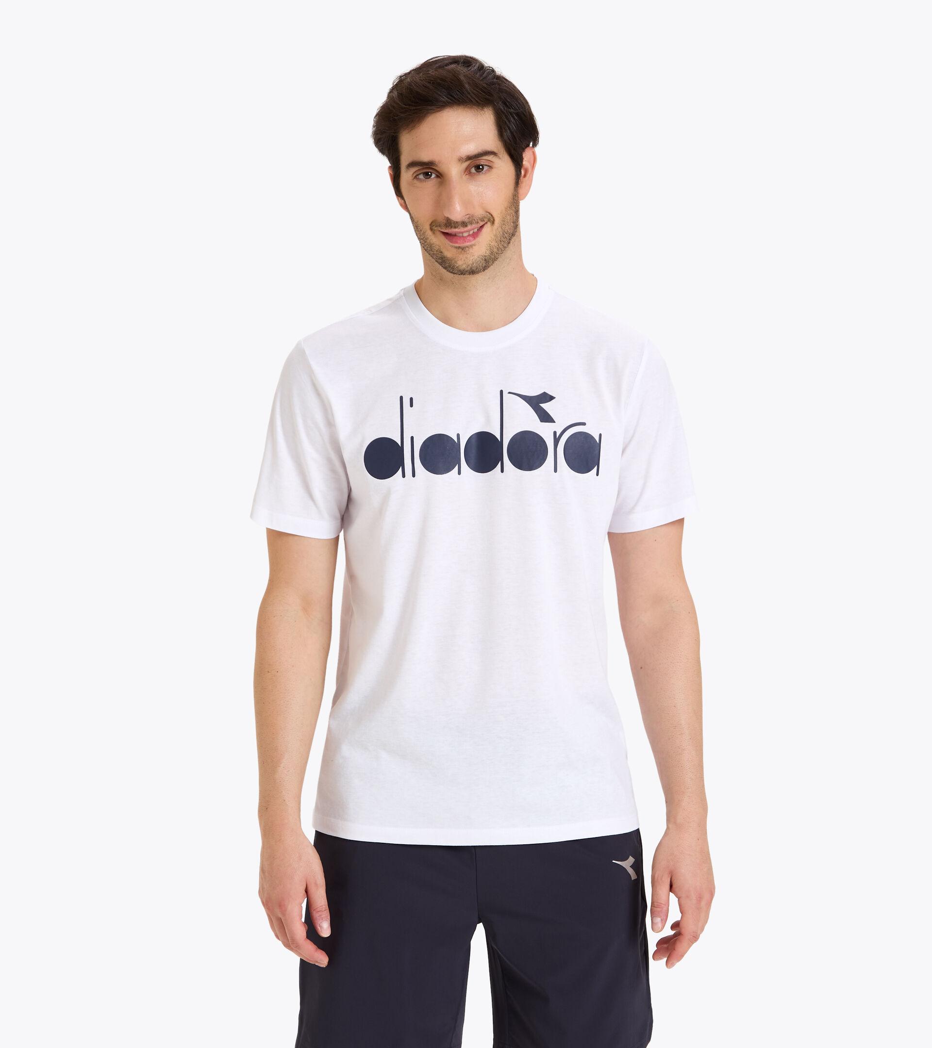 Apparel Sport UOMO SS T-SHIRT DIADORA CLUB OPTICAL WHITE Diadora