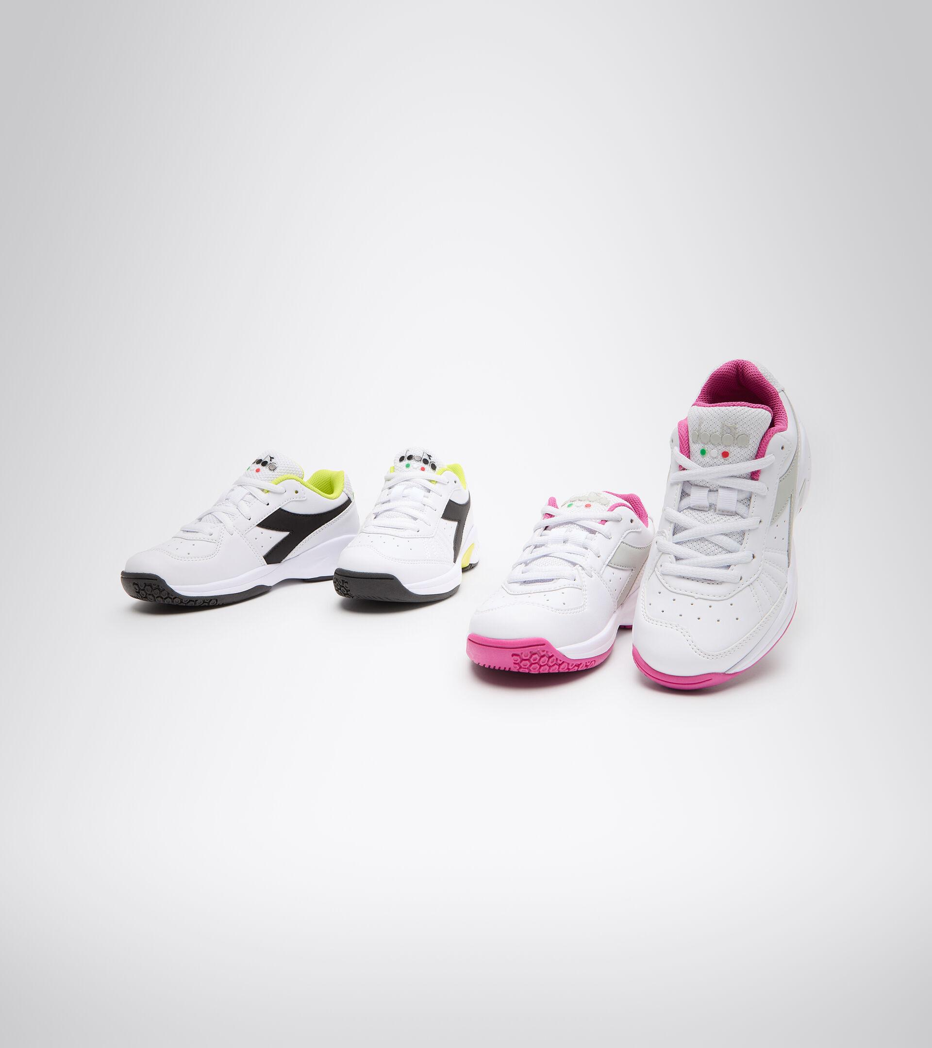 Footwear Sport BAMBINO S. CHALLENGE 3 SL JR WHITE/IBIS ROSE Diadora