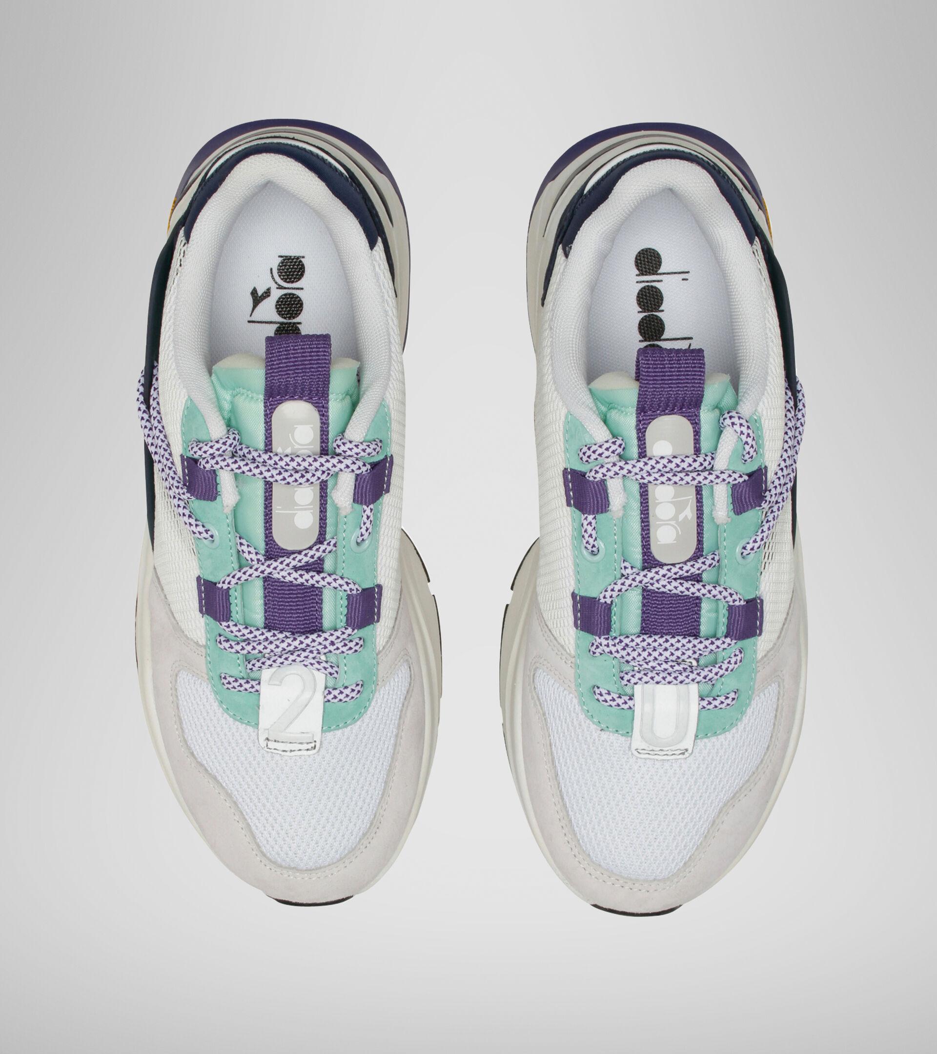 Footwear Sportswear UNISEX TERRENA NYLON WHITE/DRESS BLUES/CABBAGE Diadora