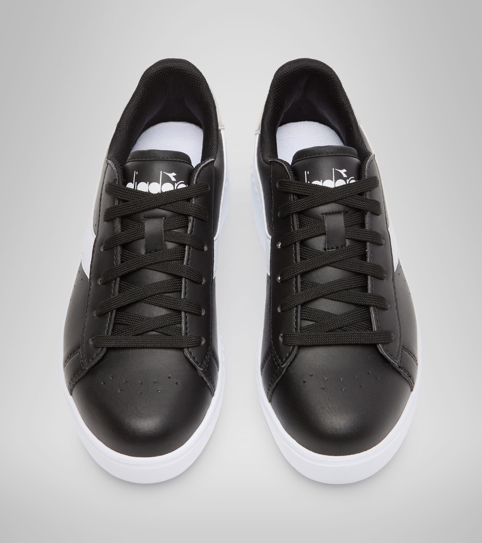 Chaussures de sport - Jeunes 8-16 ans GAME STEP GS NOIR/BLANC - Diadora