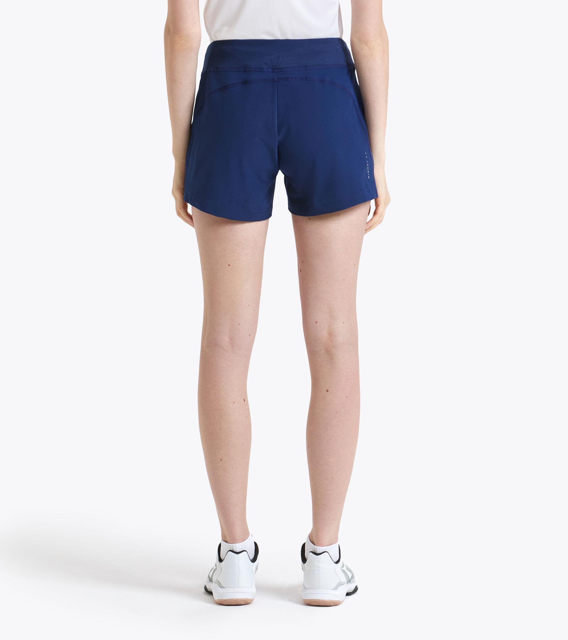 Tennis Shorts - Women L. SHORT COURT SALTIRE NAVY - Diadora