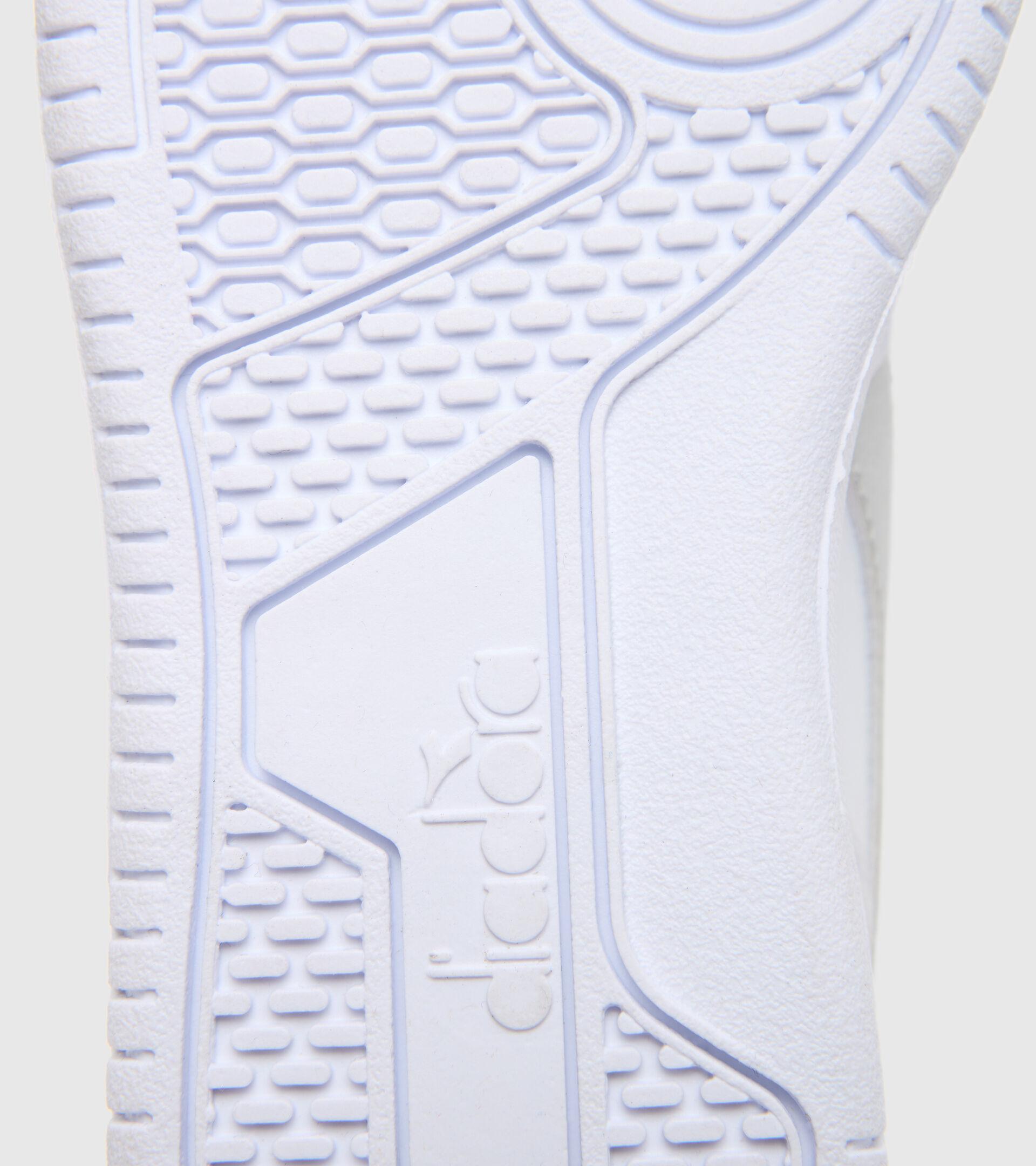 Footwear Sport BAMBINO RAPTOR LOW PS BIANCO/ARGENTO Diadora