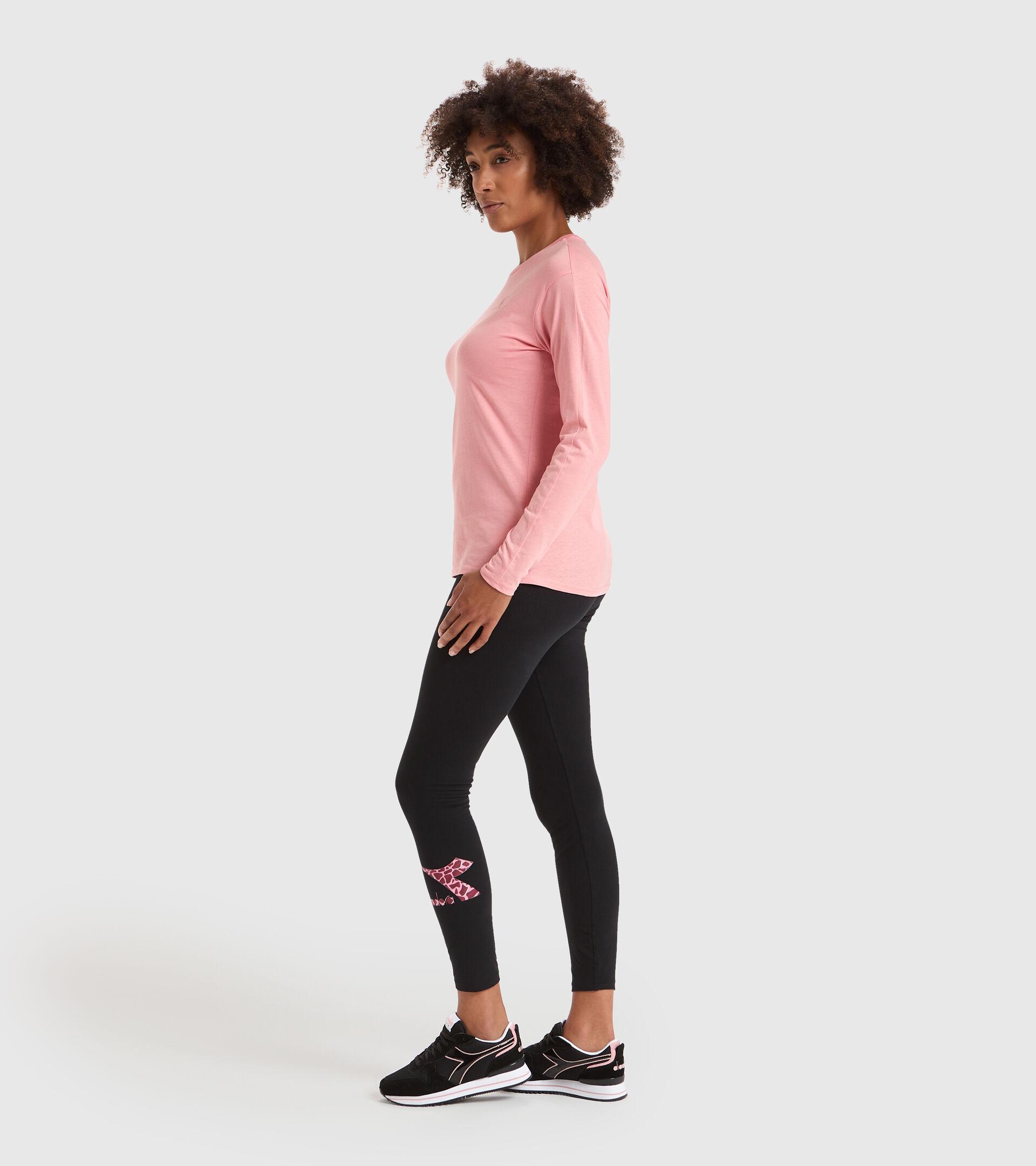 Pantaloni sportivi - Donna L.LEGGINGS LUSH NERO - Diadora
