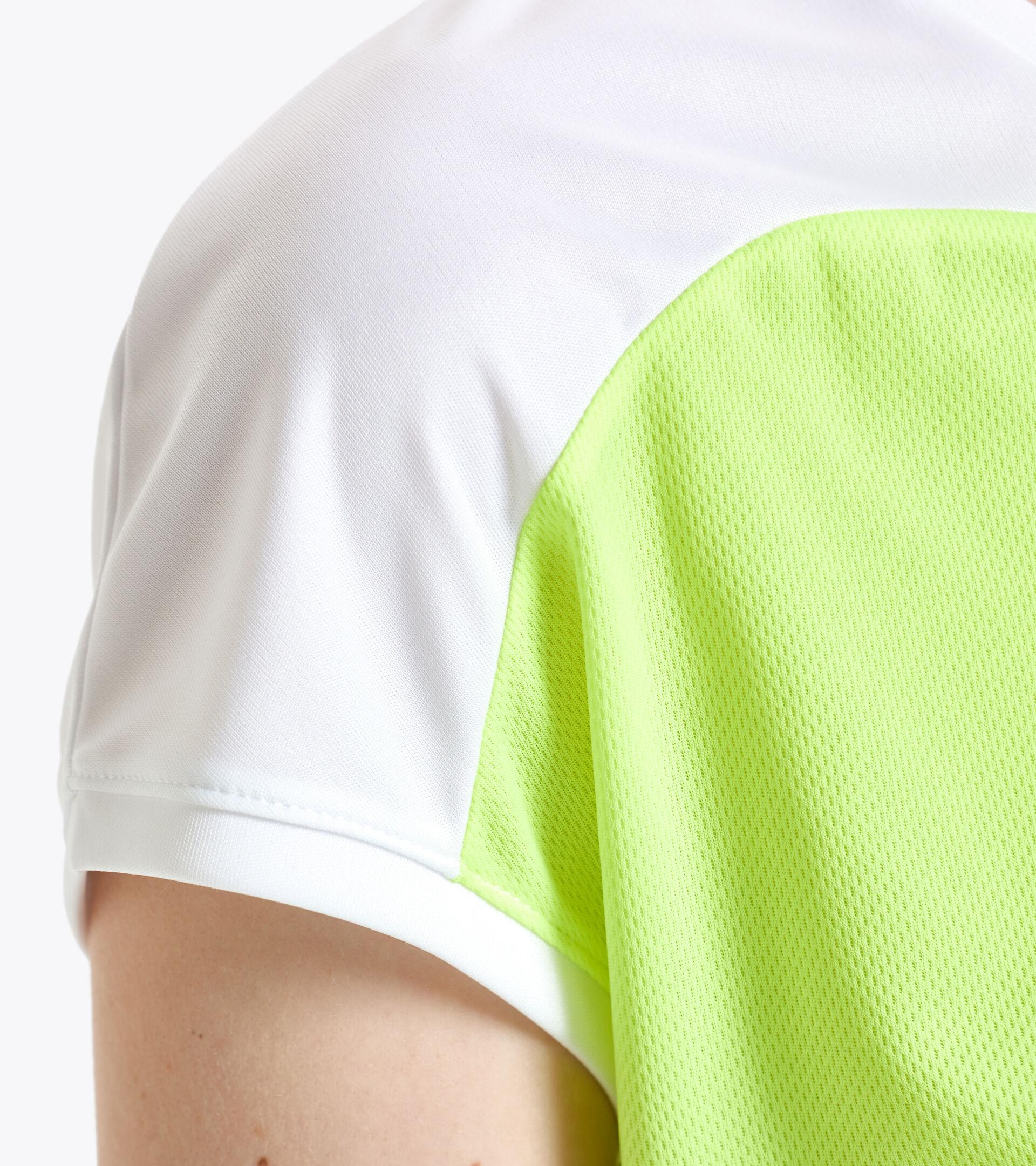 Tennis T-shirt - Women L. T-SHIRT COURT FLUO YELLOW DD - Diadora
