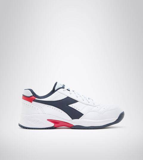 Tennis shoe - Men VOLEE 4 WHITE/BLUE CORSAIR - Diadora