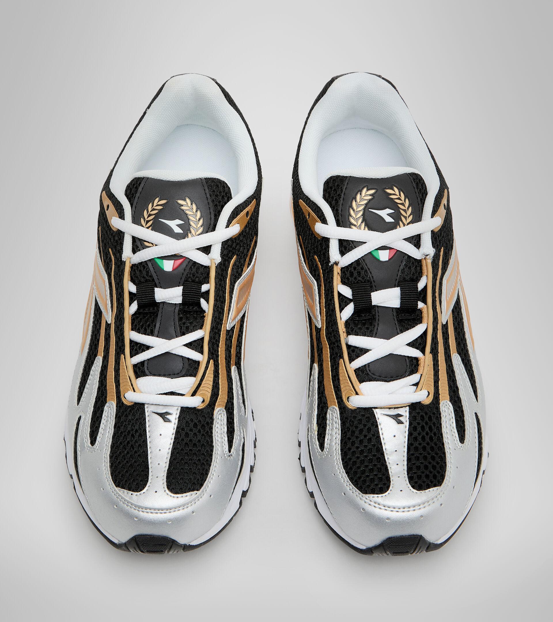 Sports shoe - Unisex MYTHOS PROPULSION 280 BLACK/GOLD - Diadora