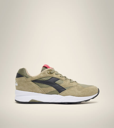 Chaussures Heritage Made in Italy - Homme ECLIPSE ITALIA VERT OLIVE BRULE - Diadora