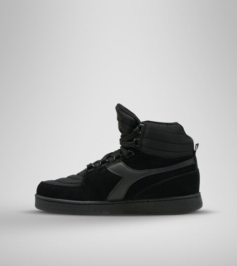 Footwear Sportswear DONNA MI BASKET MOON NEGRO Diadora