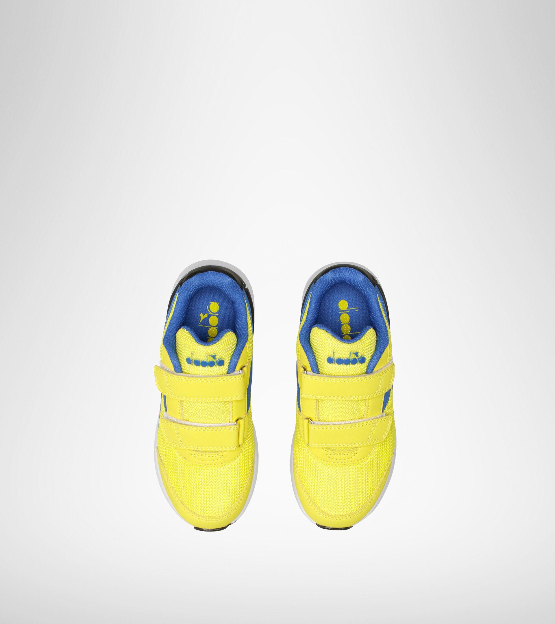 Running shoe - Kids FALCON JR V YELLOW/ROYAL - Diadora