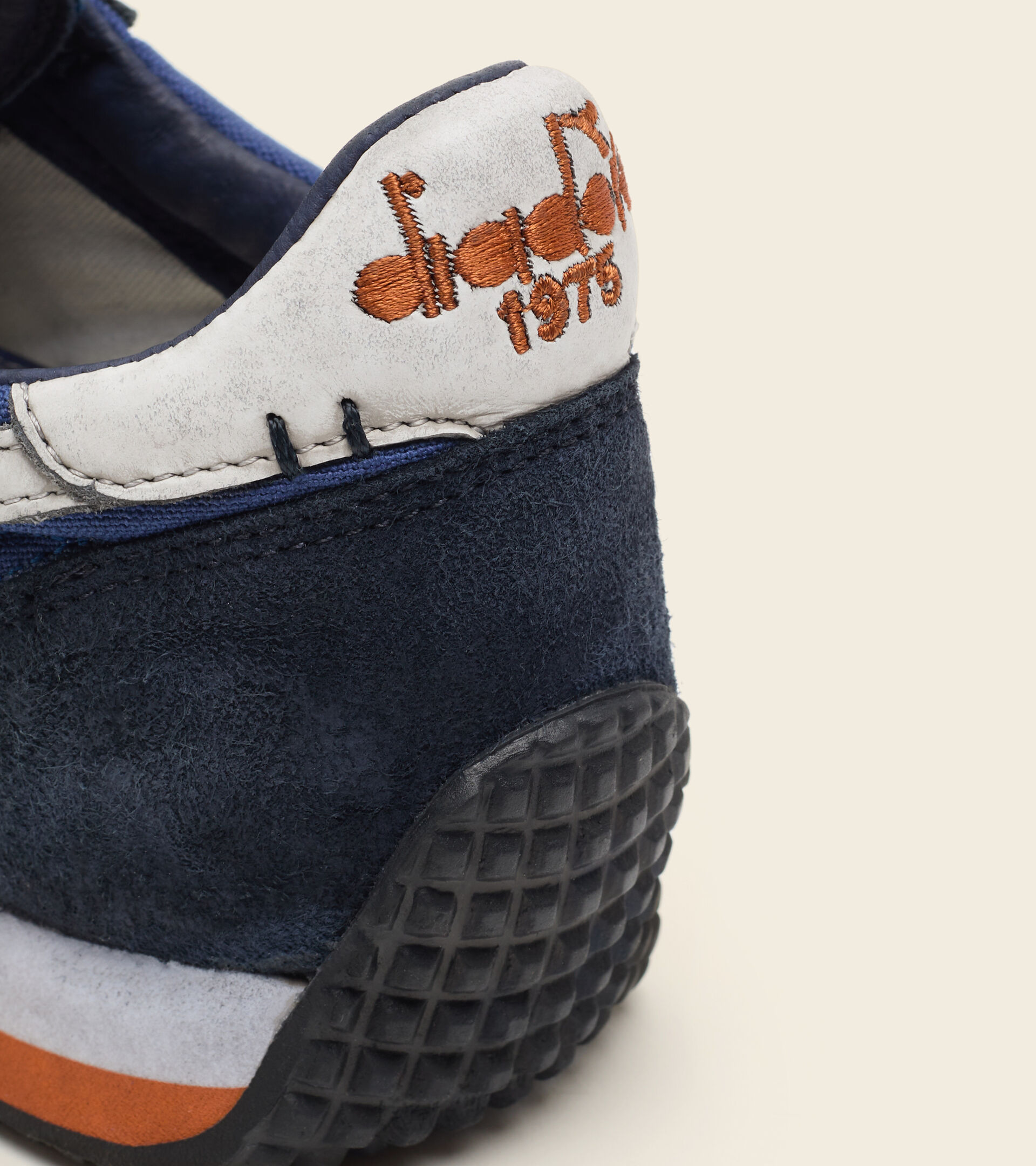 Heritage-Schuh - Unisex EQUIPE H DIRTY STONE WASH EVO LIMOSINER BLAU - Diadora