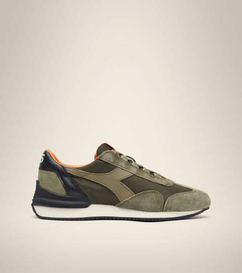Chaussures Heritage Made in Italy - Unisexe EQUIPE MAD ITALIA NUBUCK SW OLIVINE - Diadora